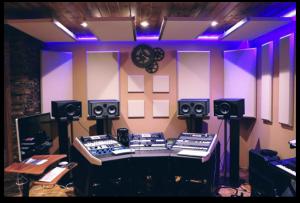 NewAudio equipment in studio